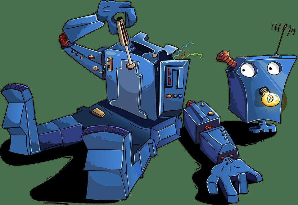 robot y los impuestos por daños