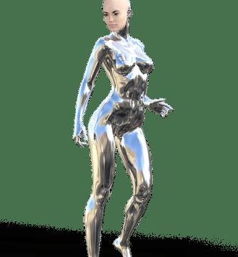 robot mujer