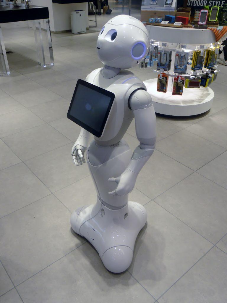 robot pepper 2018