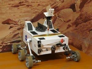 robot espacio marte